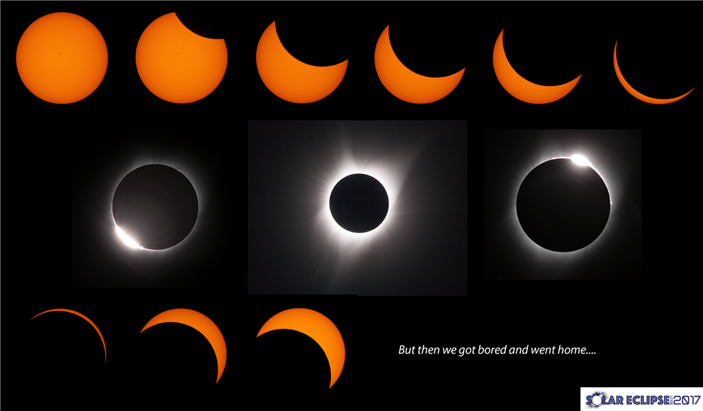 Eclipse photos from Rexburg, Idaho