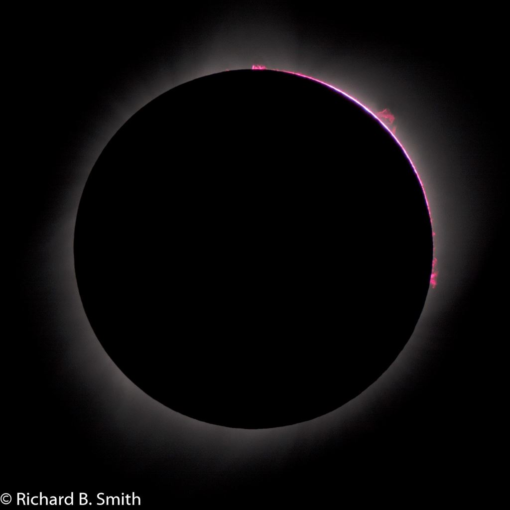 2017 Solar Eclipse images taken with 65mm (420mm f.l.) refractor and Nikon D7100 DSLR in Glendo, Wy.