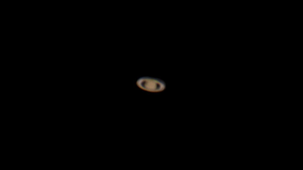 My first attempt photographing the planet Saturn!  New/used TPO RC 8