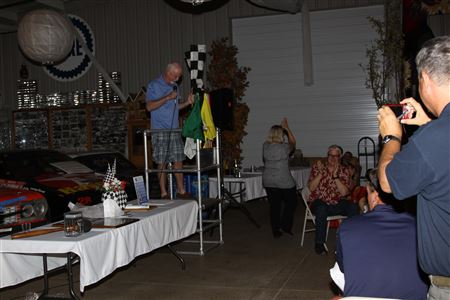 Dinner & Awards at the Stock Car Museum