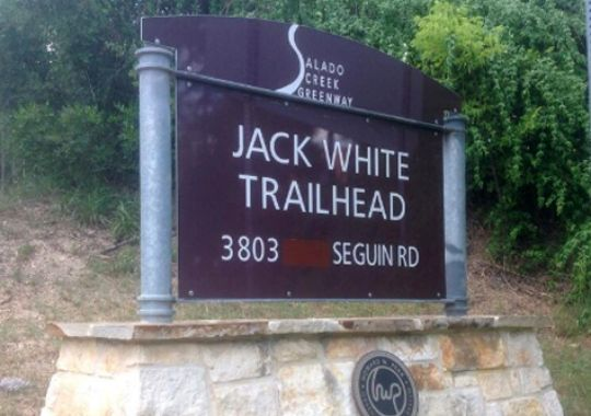 Jack White Trailhead