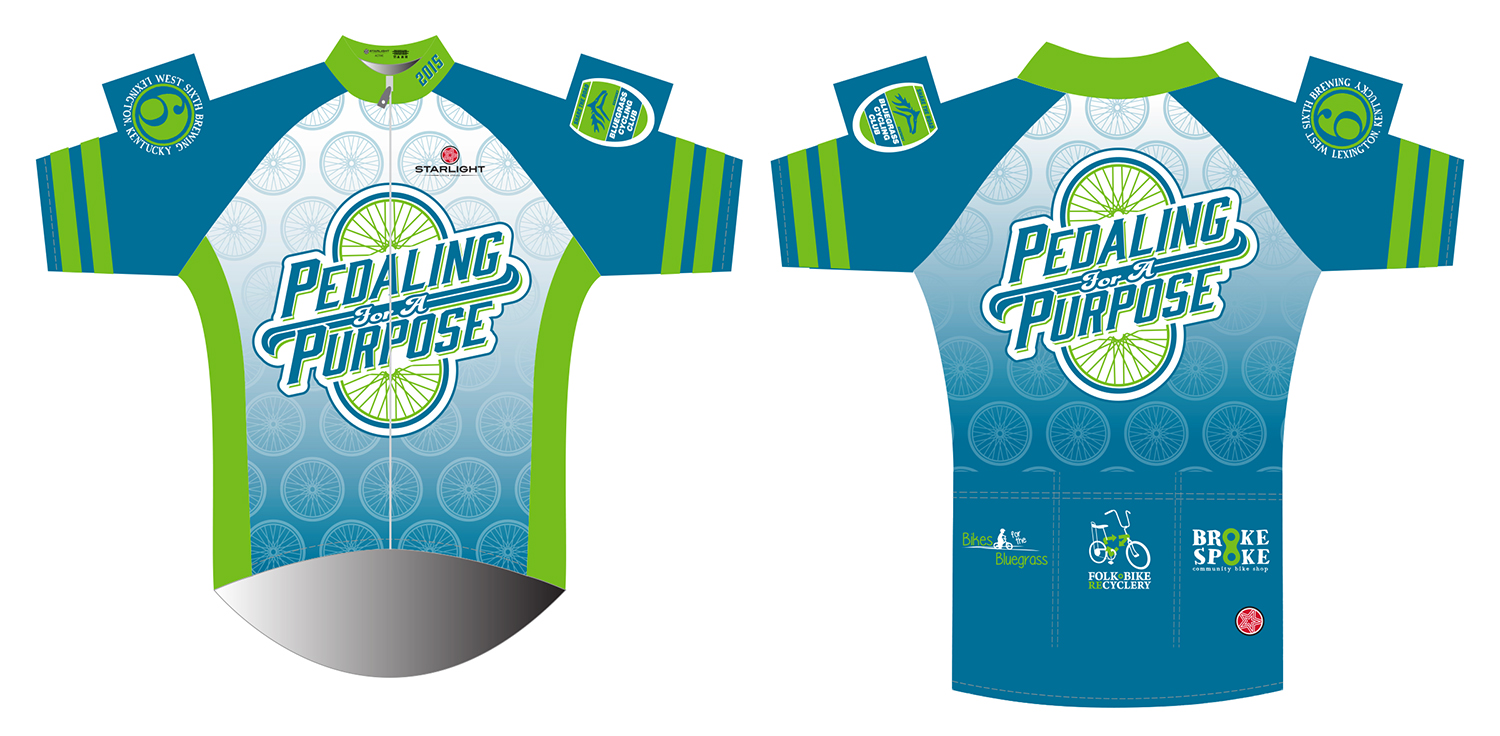 Pedaling for a Puroose 2015 Jersey