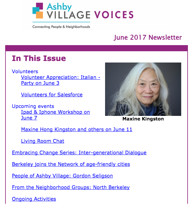 village voice June 2017