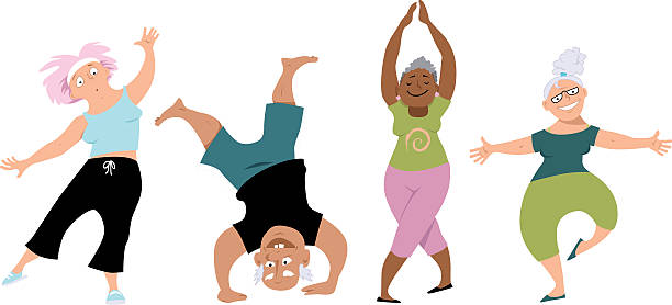 strength and dance clipart