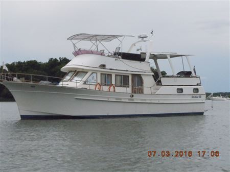 We purchased our Albin 43 in October of 2010 in Connecticut and moved her to the Philadelphia area. We have been cruising her on the Chesapeake with the CBC since then. 2017 is our Loop start.
