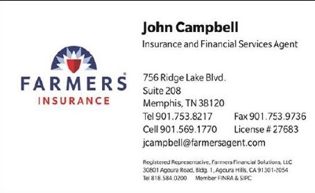 Farmers Insurance Campbell