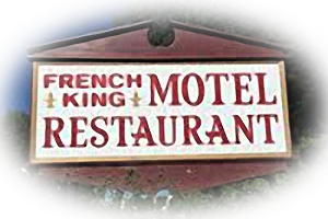 French King Restaurant & Motel Logo