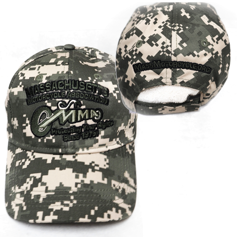 Ball Cap - Green Digi-Camo