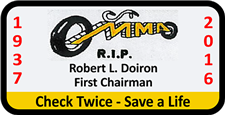 Bob Doiron Memorial Patch - click to view details