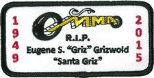 Griz Memorial Patch - click to view details