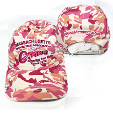 Ball Cap - Pink Camo - click to view details