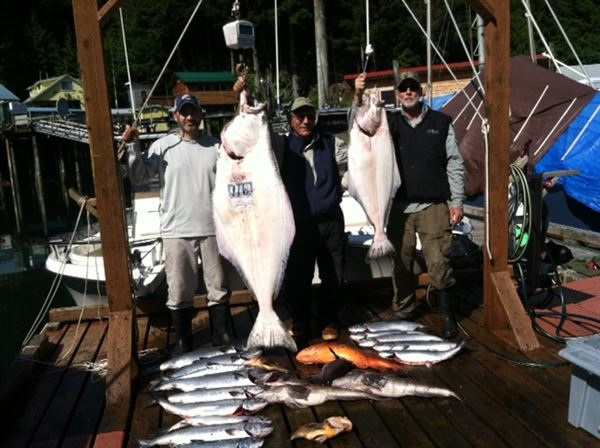 One days catch with Vic, Devin, and John