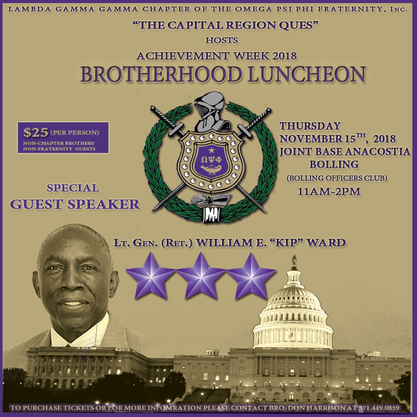 ACW 2018 Brotherhood Luncheon