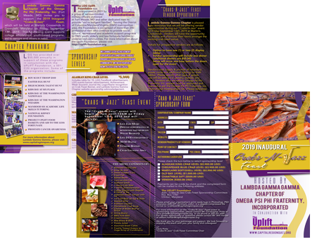 Crabs-N-Jazz Sponsorship Brochure