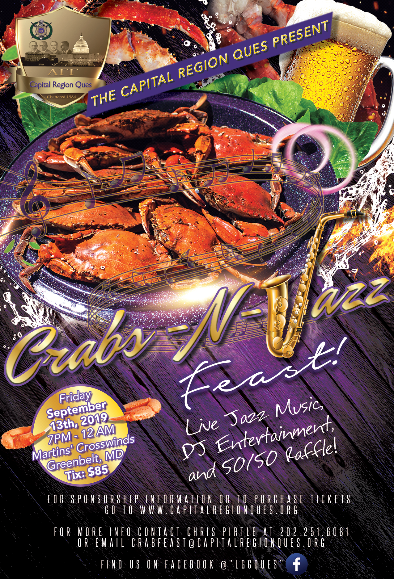 Crabs-N-Jazz Crab Feast