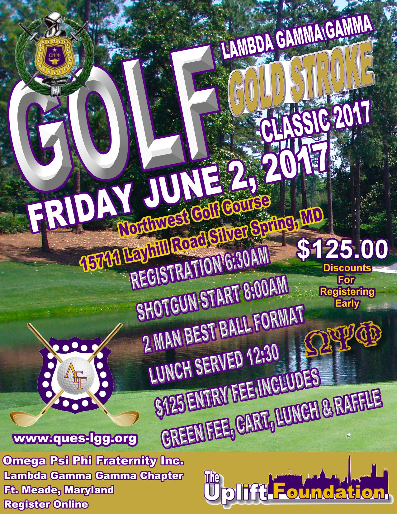 Golf Tournament Register Here!