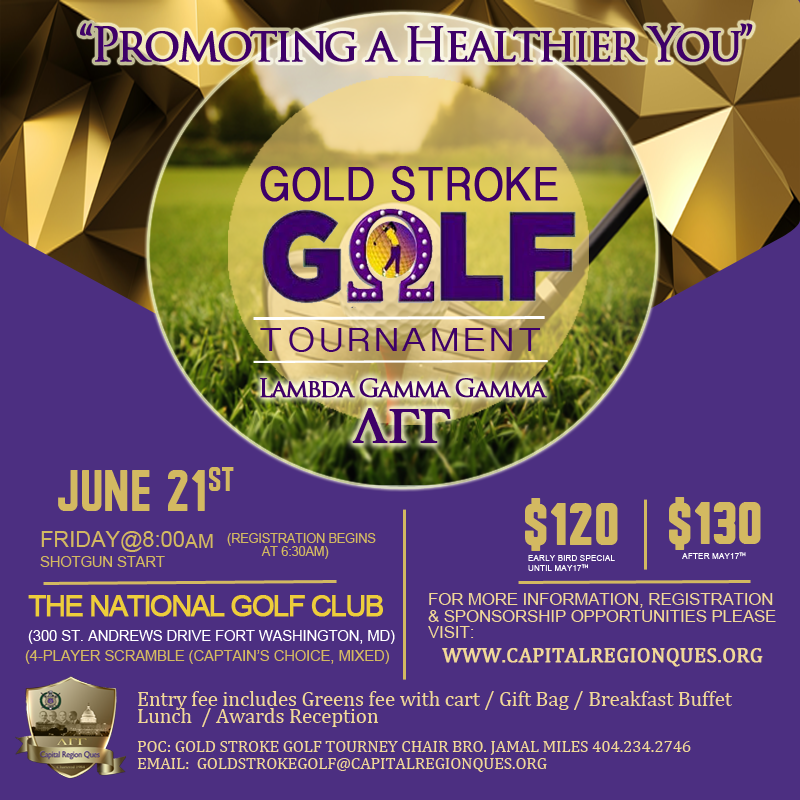Gold Stroke Golf Tourney
