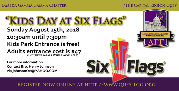 Kids Day at Six Flags 2018