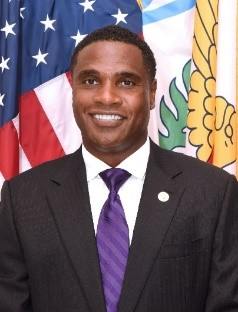 COL(R) Brother Angelo Riddick, CIO USVI