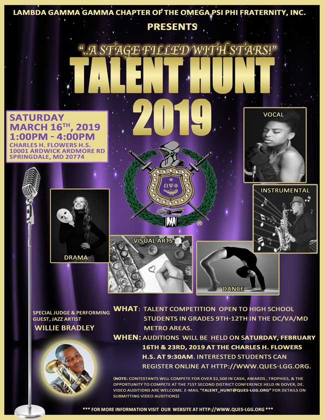 Talent Hunt 2019 Ad Campaign