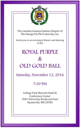 2016-2017 Purple * Gold Ball