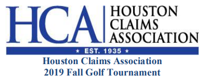 2019 HCA Fall Golf Tournament
