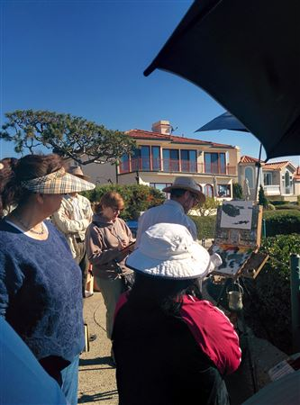 Great demo that took place near Little Corona Beach on January 29, 2016.