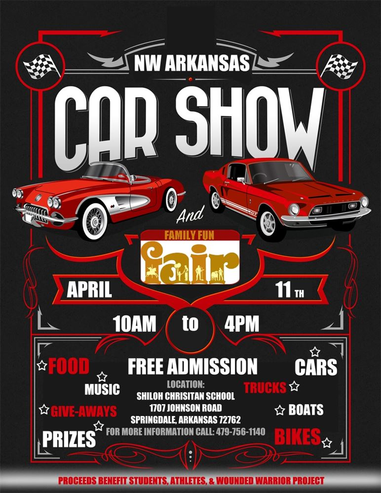 NW Arkansas Car Show Family Fun Fair Events Central Arkansas - Car show games
