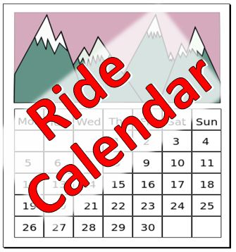 ride calendar graphic