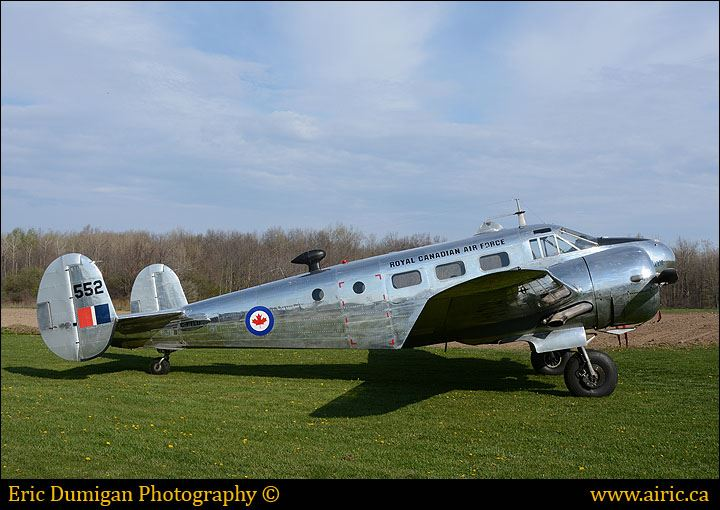 Ex-RCAF 1952 Expeditor 3NM,  Serial #CA-152 now C-FTLU