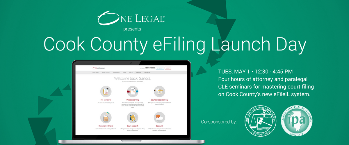 Cook County eFiling Launch Day