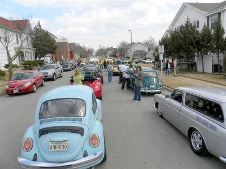 The club comes together to show of their rides at the Springfield St. Patty's Day Parade.  After the Parade, some go out to eat and visit some more. Make plans to join us at the next parade.