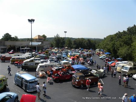 2 volkswagens shows 1 town = VW overload