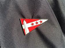 Burgee Lapel Pin - click to view details