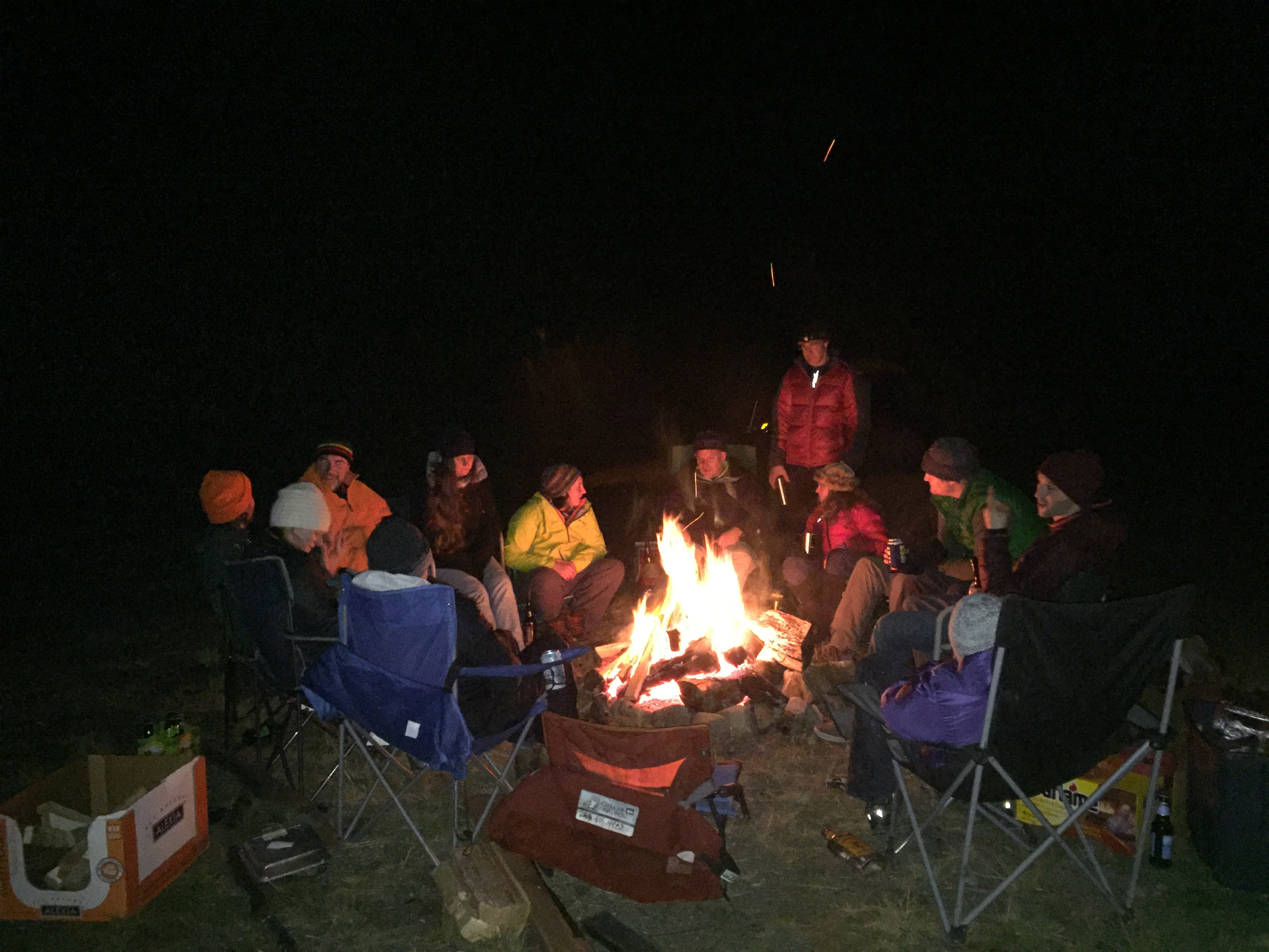 Matheny Campfire