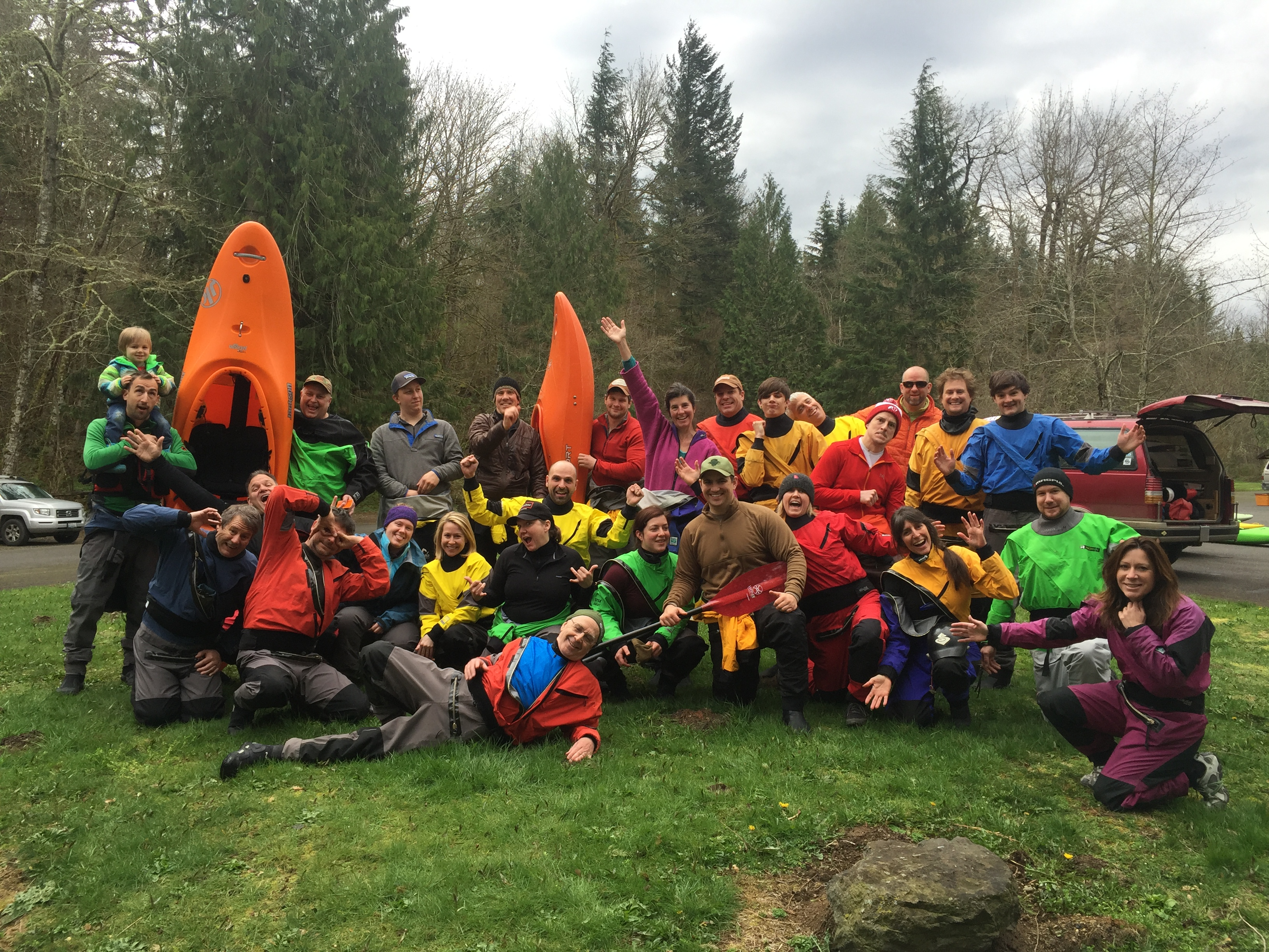 2016 Beginner Whitewater Crew