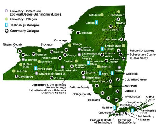 Suny New Paltz Map. Campus Map With Suny New Paltz Map. D Model ...