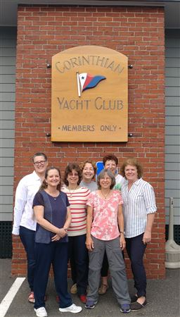 Eight HHSA Women Underway members traveled to Marblehead, MA for the 17th National Women's Sailing Association Conference.