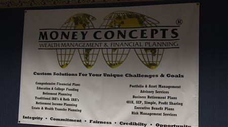 Business Open House Social and After Hours Networking Event at Money Concepts and Cobb Financial Partners. New Record: 120 Networkers Attended up from 76 in April 2017