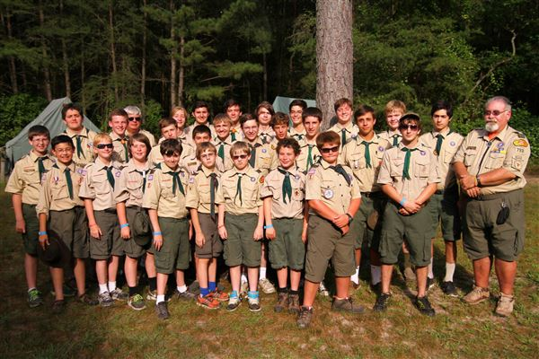Troop 793 at Henson Scout Reservation, July 2015