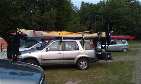 The Rookie Rendezvous is the annual trip to Lake Superior with paddling to the Sea Caves and Sand Island when conditions are right.