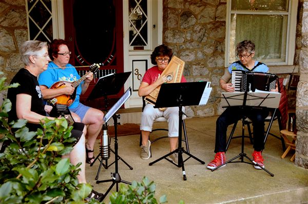 Photos from PorchFest 2018 taken by Mary Liz Colley