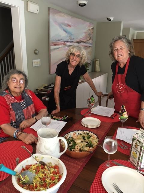 Summer Cooking Class, July 2016
