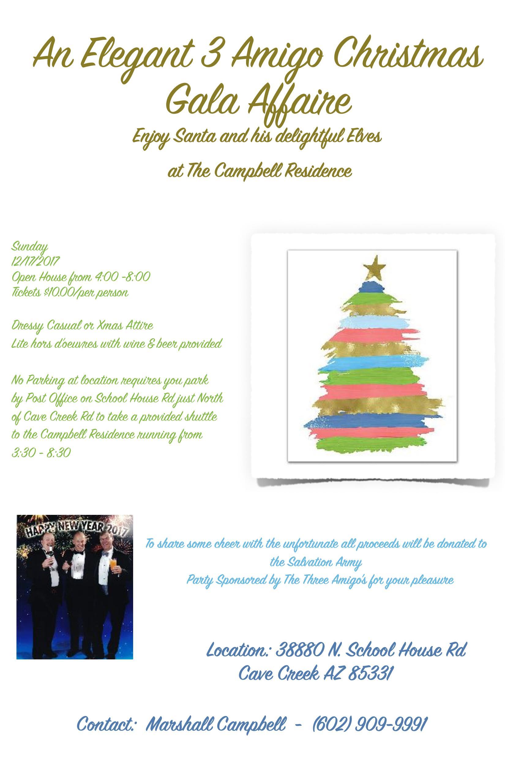 3 Amigos Christmas Gala Affaire - Events - Scottsdale Sea and Ski Club