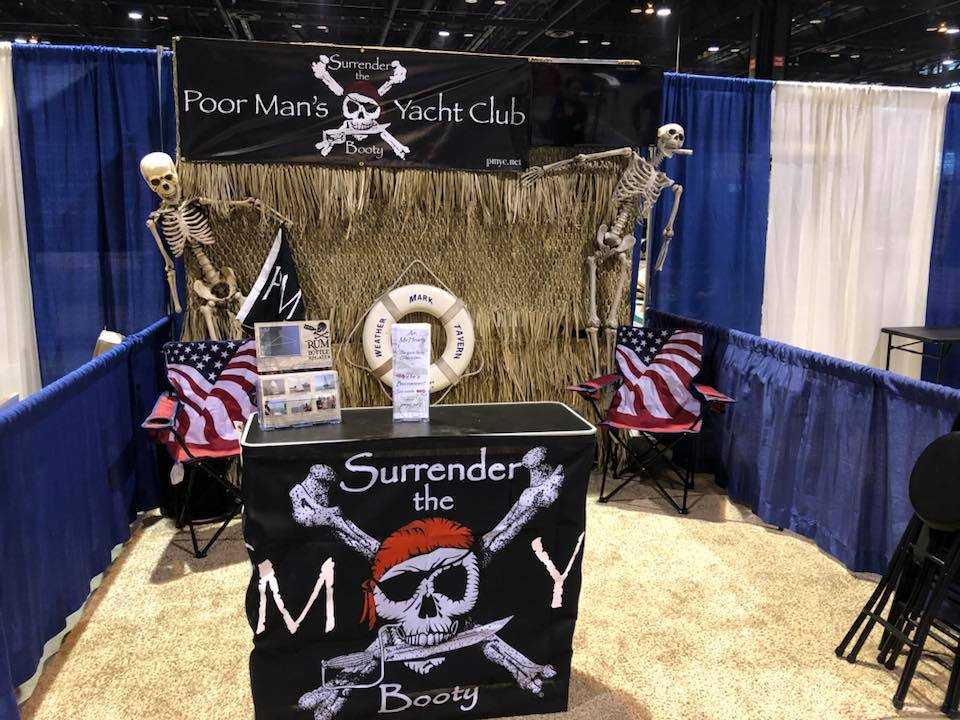 2018 PMYC Boat Show Booth