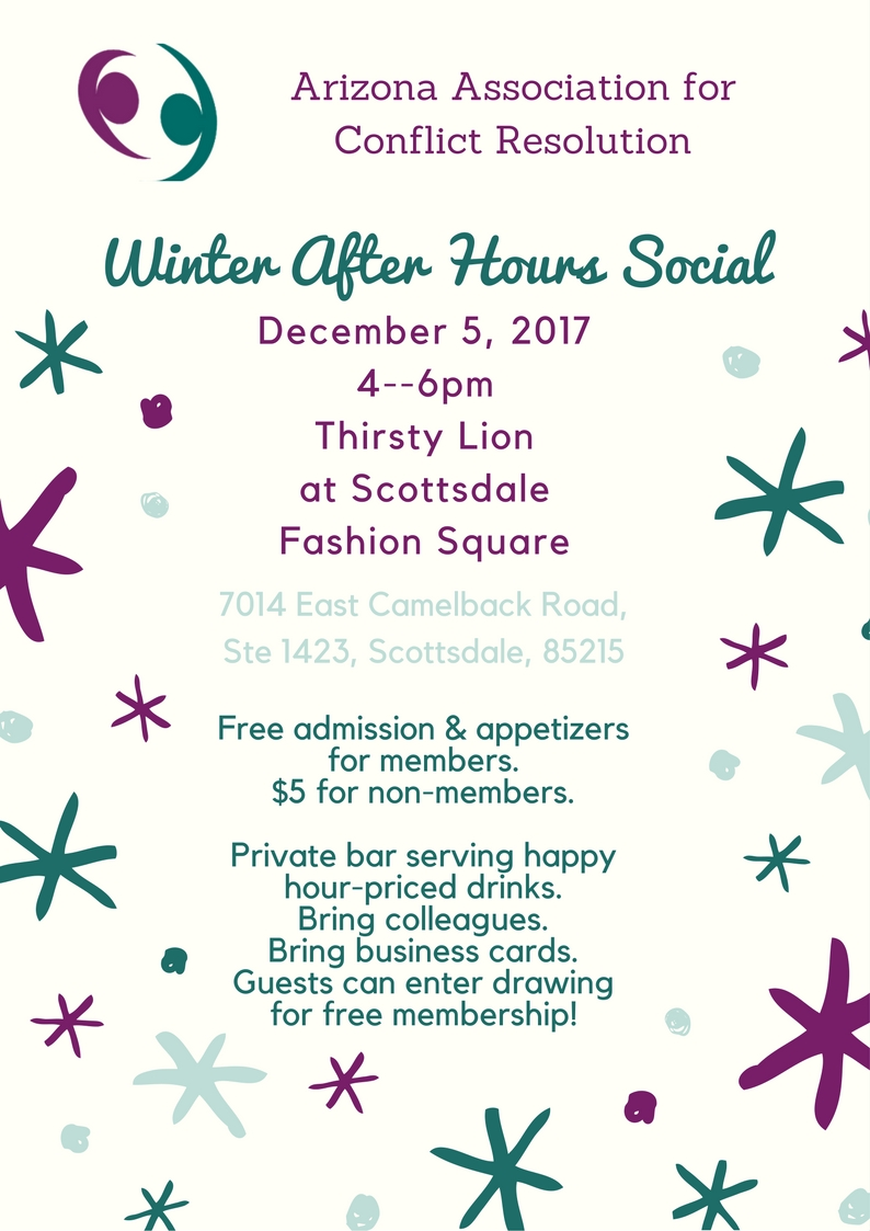 Dec 2017 winter social