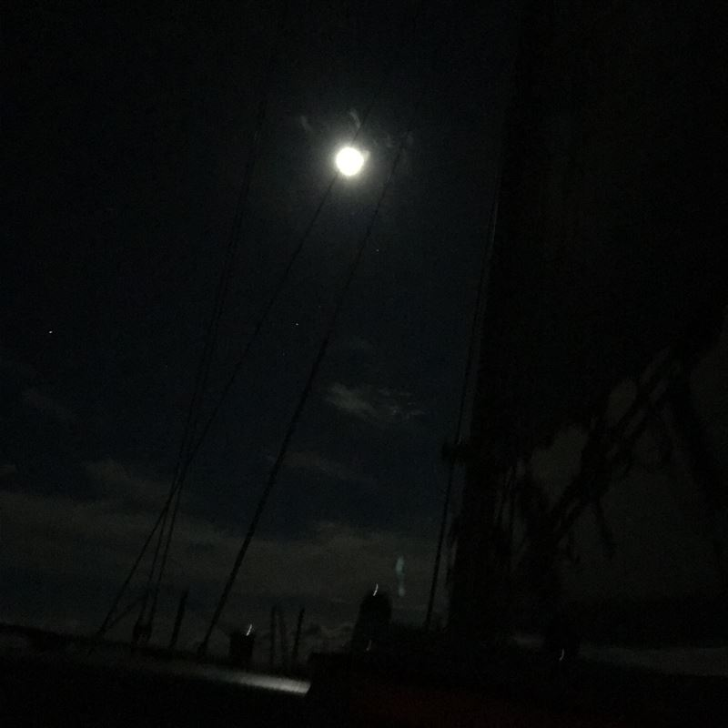 From Kimberlee's perspective. The lone intrepid female sailor and 9 men Sailed from Pax to Norfolk and back. Heck ya I'd do it again!!!
