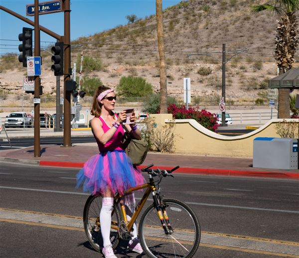 Each year Scott Kelby hosts a WWPW - this year signed up for the Tour de Fat on Mill Ave Tempe.