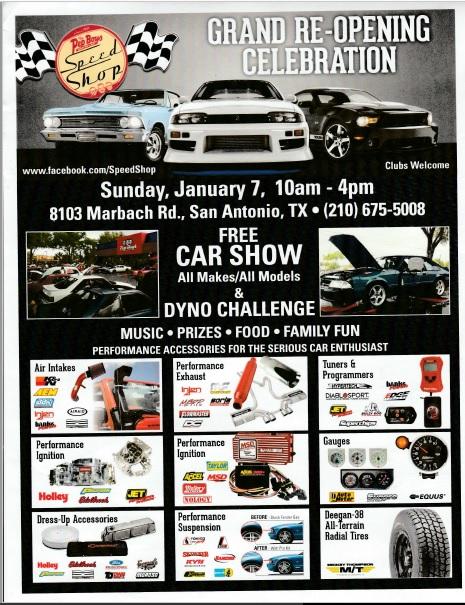 Pep Boys Car Show Marbach Road Events San Antonio Mustang Club - Car show in san antonio tx