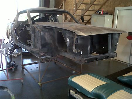 My current project - 65 Mustang Fastback